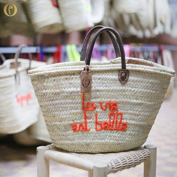 panier marocain marché la vie est belle ©original-marrakech