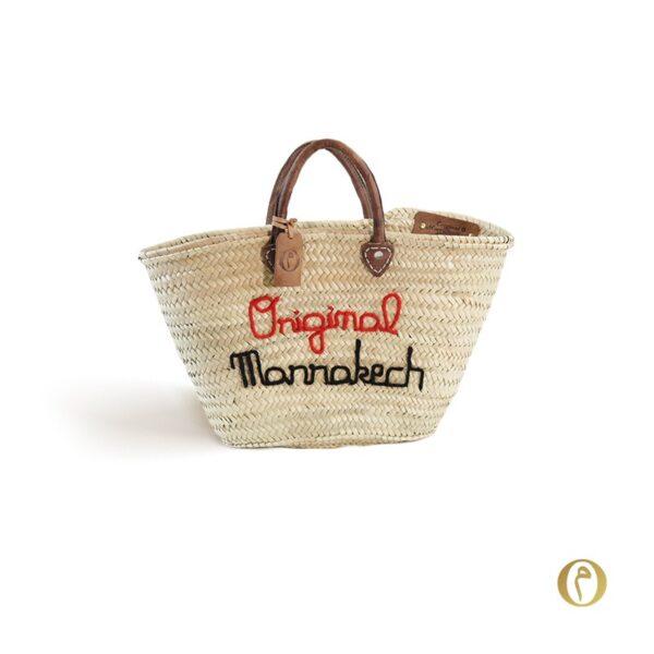 panier marché personnalisé ©original-marrakech