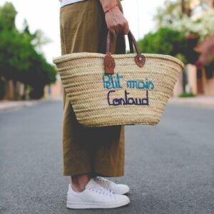 Panier sac marocain Petit mais Costaud ©original-marrakech
