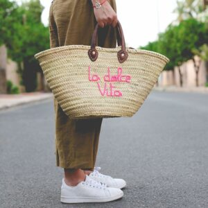 Panier marocain Marché dolce Vita ©original-marrakech