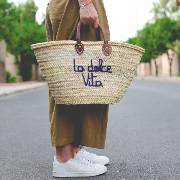 panier sac marché dolce Vita ©original-marrakech