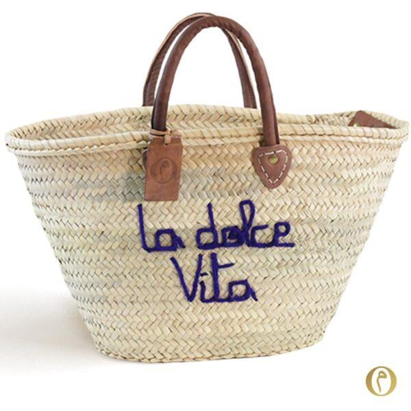 panier marocain sac marché dolce Vita ©original-marrakech