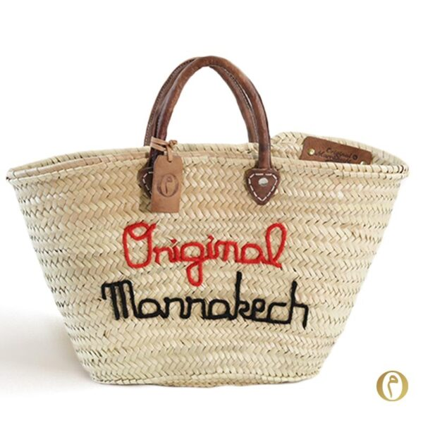 panier marché personnalisé brode sac marocain maroc ©original-marrakech