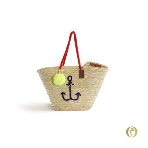 panier sac plage personnalisé ©original-marrakech