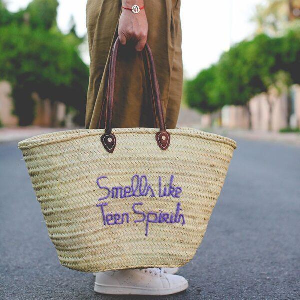 panier sac marché Smeels Like Teen Spirits ©original-marrakech