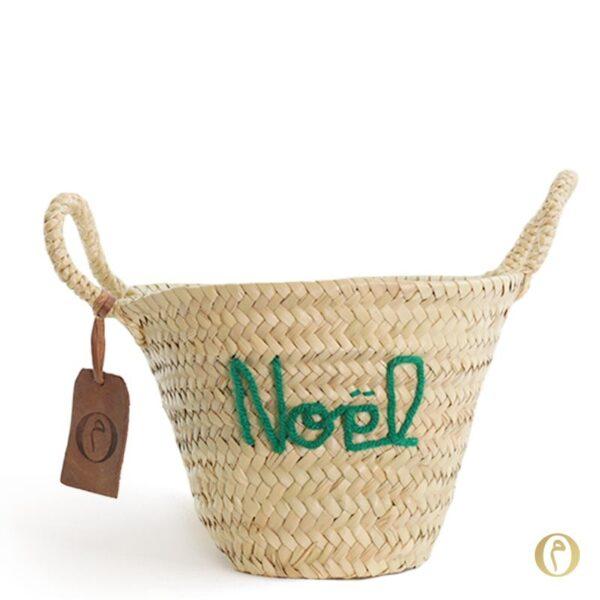 panier enfant personnalisé bébé Noël ©original-marrakech