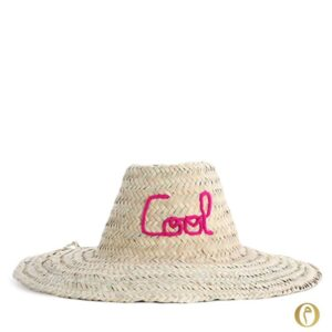 chapeau de paille adulte Cool brode marocain plage summer jardin ©original-marrakech