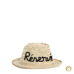 chapeau de paille marocain personnalisation broder enfant réservé ©original-marrakech