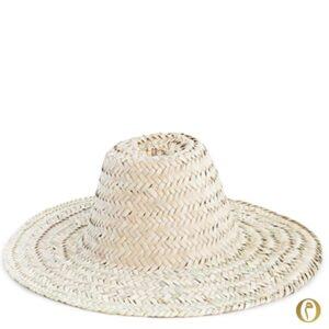 chapeau de paille adulte a personnaliser personnalisation brodé broderie mariage ©original-marrakech