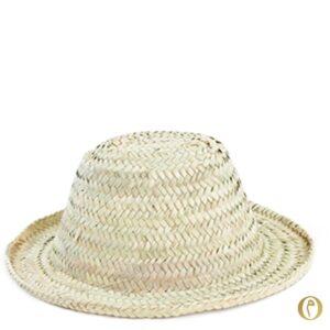 chapeau de paille enfant à personnaliser prénoms maroc marocain personnalisé brodé ©original-marrakech