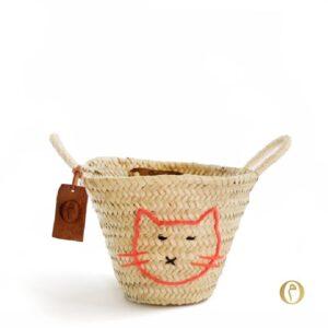 panier personnalisé bébé chat ©original-marrakech