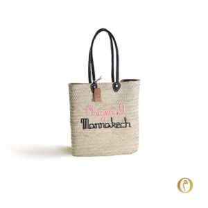 Panier sac personnalisé ©original-marrakech