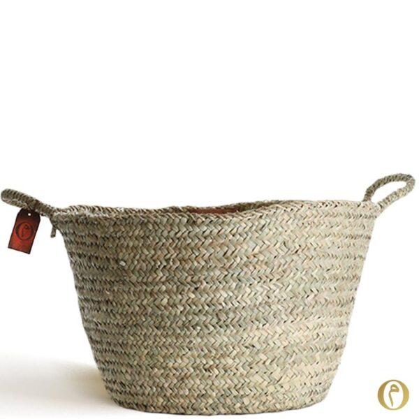 panier nature rangement décoration brode cabas sac personnalisé maroc ©original-marrakech