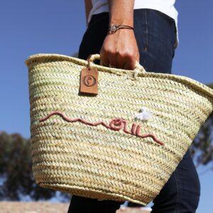 Panier sac personnalisé oui ©original-marrakech
