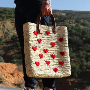 Panier sac personnalisé st valentin ©original-marrakech