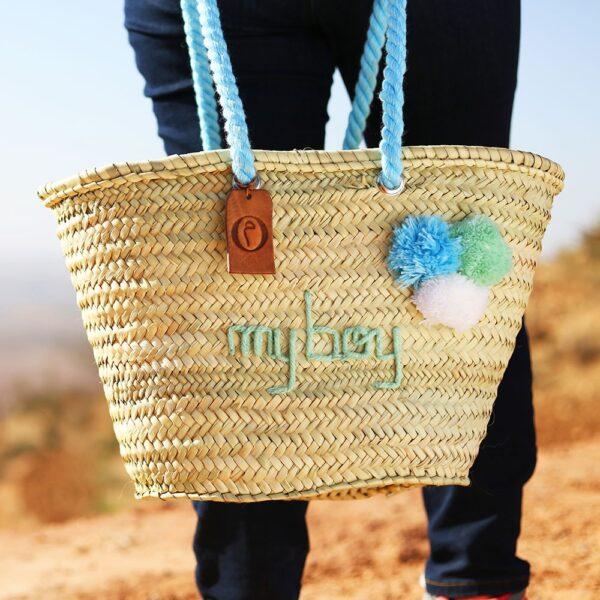 Panier marocain personnalisé ©original-marrakech