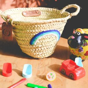 panier personnalisé bébé rainbow ©original-marrakech